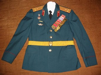The military uniform of the colonel of the USSR.