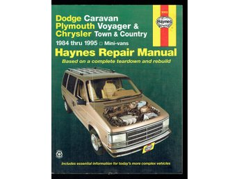 Haynes - Dodge / Plymouth / Chrysler Mini-vans 1984-1995