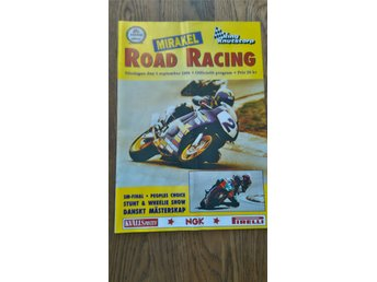 Road Racing  Knutstorp 1996 program