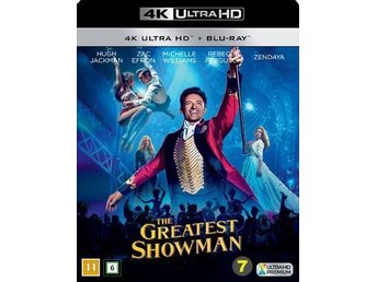 The Greatest Showman, 4K/UHD+Blu-ray (combopack), Inplastad, NY!