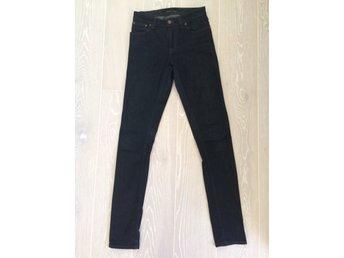 försäljning usa online äkta kvalitet fantastiskt pris Nya Nudie jeans organic mörkblå tjej dam (model.. (324668537 ...