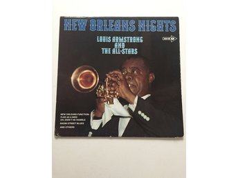 Louis Armstrong and The All-Star - New Orleans Nights - Vinyl