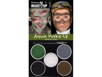 Make Up Kit - smink - maskerad - maskeradsmink - militär