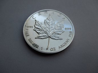 Canada, 5 dollars, 1988 maple leaf
