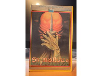 Satan´s Blade - Ex Rental, Holland, Video For Pleasure, VHS