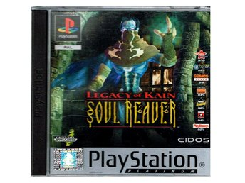 LEGACY OF KAIN SOUL REAVER PS1 PLATINUM