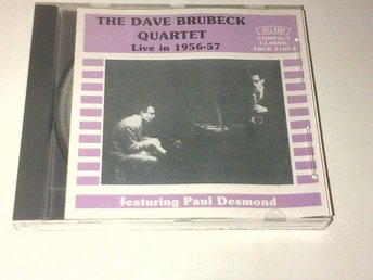 The Dave Brubeck - Live In 1956-57