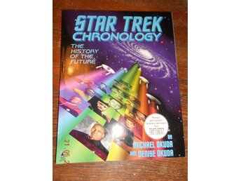 STAR TREK Chronology - The history of the future, stor bok USA 1996