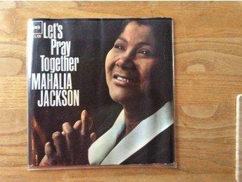 EP Mahalia Jackson Lets pray together CBS - Fengersfors - EP Mahalia Jackson Let's pray together CBS - Fengersfors