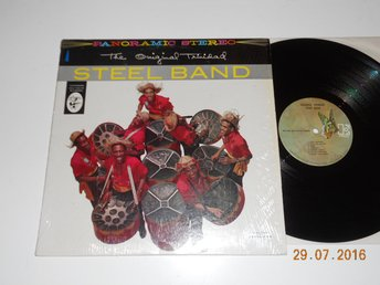 THE ORIGINAL TRINIDAD STEELBAND - S/T, LP Elektra Calypso