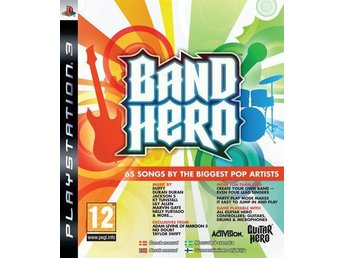 BAND HERO - Ny & Inplastad  -  PS3  spel