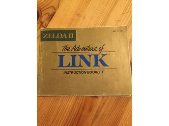 Zelda 2 - manual (USA)