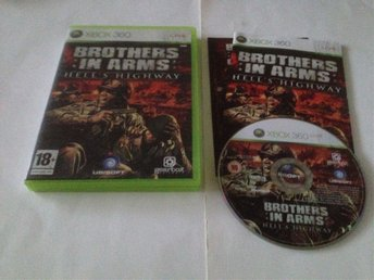 Xbox 360: Brothers In Arms: Hell's Highway (PAL, komplett, svensksålt)