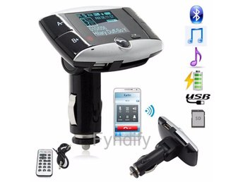 Wireless Bluetooth FM Transmitter Modulator Car Kit MP3 Player