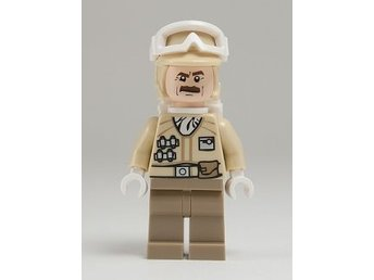 Lego - Figurer - Star Wars - Hoth Rebel Trooper, Moustache (9509) NY