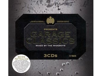Various artists – Garage classics mixed by Wideboys (Ministry of Sound 3xcd)
