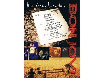 Bon Jovi -Live from London vhs Wembley Stadium