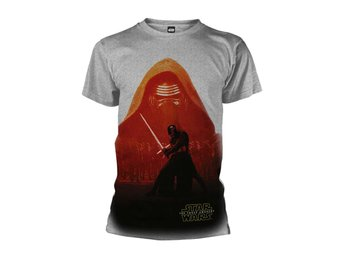 STAR WARS THE FORCE AWAKENS KYLO REN POSTER T-Shirt - Small