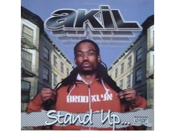 "Akil title* Stand Up / Hey Luv* Hip-Hop 12"" US"