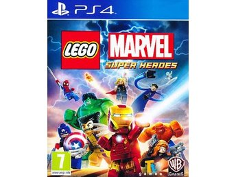 Lego Marvel Superheroes PS4 (PS4)