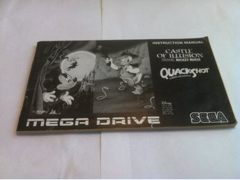 MD Manual: Castle of Illusion/Quackshot (Svensk/Engelsk)