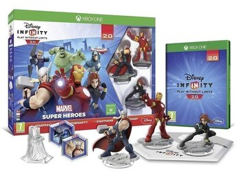 "Disney Infinity 2.0: Marvel Super Heroes - Starter Pack ""Xbox One"" NY!"