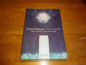 Critical thinking. A concise guide - Bowell   ISBN 9780415820929