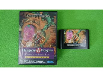 Dungeons & Dragons warriors of the eternal sun Sega Megadrive 16-bit