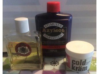 Coldkräm, Azymol, Barnängen After Shave, retro, nostalgi