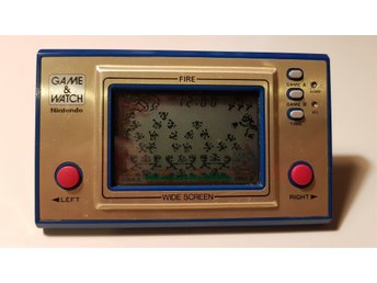 Game and watch Fire FR-27