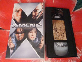 X-MEN 2, VHS, SVENSK TEXT, SCI-FI, FILM, 128 MIN. SCIENCE FICTION