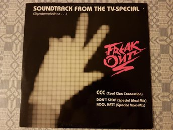 "CCC ‎– Soundtrack From Freak Out 12"" Sandelin Ekman"