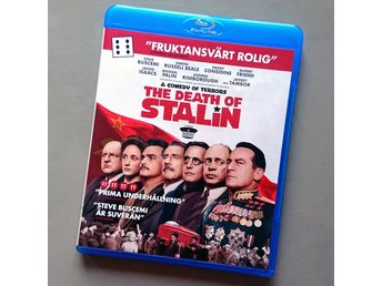 Death Of Stalin (Blu-ray, svensk text)