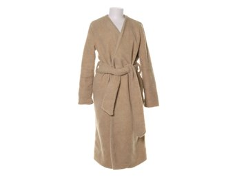 Rebecca Stella For Nelly, Kappa, Strl: S, Teddy Long Coat, Beige