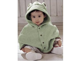 Ny Baby Unisex Clothes Coat Shawl Blouse Hat Frog 0-3 år