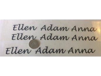 stryka på transfers VINYLER namn 3 Ellen - Oskarshamn - stryka på transfers VINYLER namn 3 Ellen - Oskarshamn