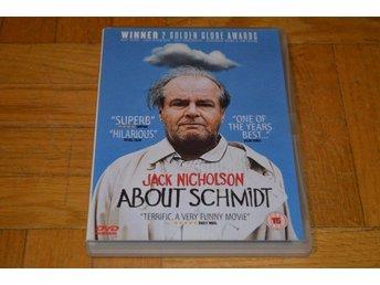 About Schmidt ( Jack Nicholson ) DVD - Töre - About Schmidt ( Jack Nicholson ) DVD - Töre