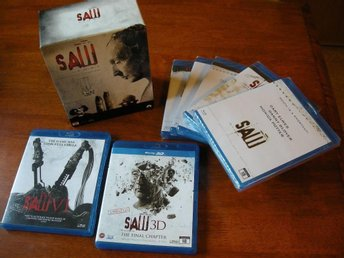 SAW_THE COMPLETE COLLECTION (1-7) *  HELT NYTT SKICK!