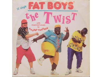 "Fat Boys-The twist (3 versioner) / 12"" (Chubby Checker)"