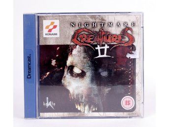 Nightmare Creatures II - Sega Dreamcast - PAL (EU)