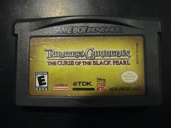 PIRATES OF THE CARIBBEAN THE CURSE OF THE BLACK PEARL / NINTENDO GAMEBOY ADVANCE