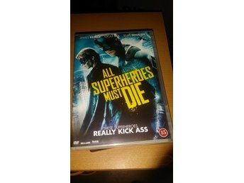 All Superheroes must Die  - UTGÅTT -  James Remar