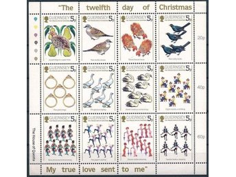 GUERNSEY MINIARK *** 12 dagar av Jul (12 days of Christmas) 1984 Mi 298-309