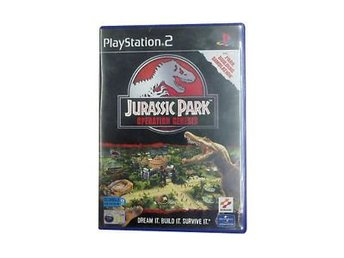 Jurassic Park - Operation Genesis - Playstation 2 PS2