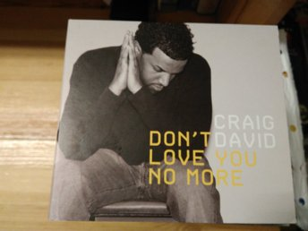 Craig David - Don't Love You No More (I'm Sorry), Promo
