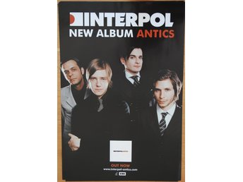Poster Interpol Antics