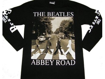 LONG-SLEEVED T-SHIRT: THE BEATLES  (Size XL)