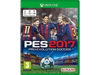 Pro Evolution Soccer 2017 PES - Xbox One