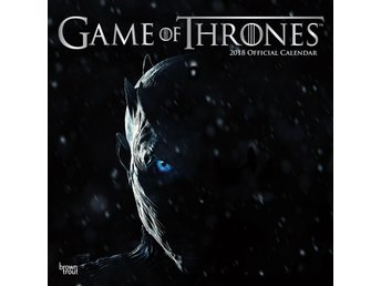GAME OF THRONES - OFFICIELL 2018 Kalender -- Ord Pris 169kr
