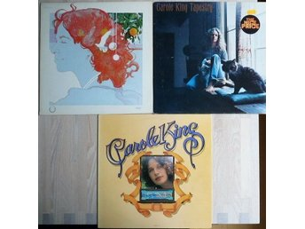 Carole King- paket med 3 lp